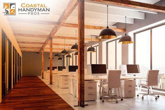 Orange County Office Space Contractor Coastal Handyman Pros